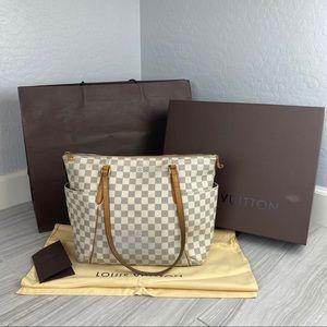 Louis Vuitton Bags - Louis Vuitton Totally MM NM Damier Azur Purse